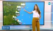 Прогноза за времето (13.07.2018 - централна емисия)