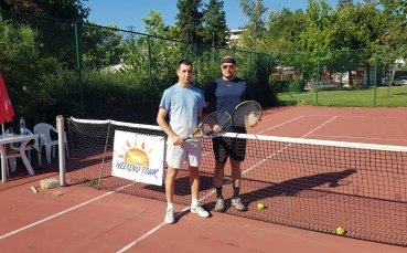 Казанлъшката тенис школа доминира на Hissar Open 2018