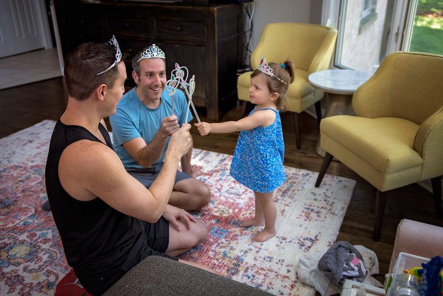 """Когато татковците останат сами с децата<br /> Снимка:<a href=""""https://www.picturesbygg.com/"""" target=""""_blank"""">Giedre Gomes</a>"""