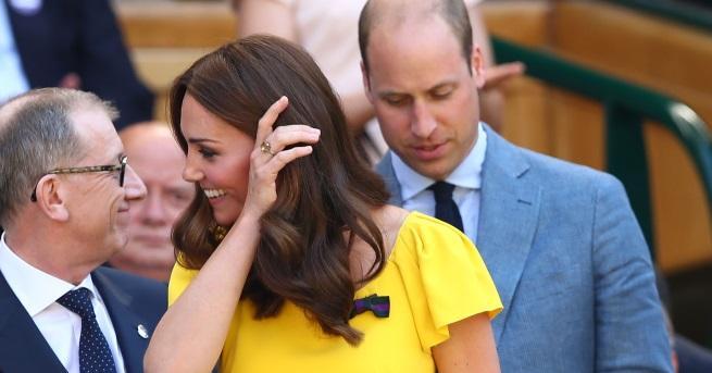 Дни след кръщенето на малкия принц Луи, неговите родители успяха