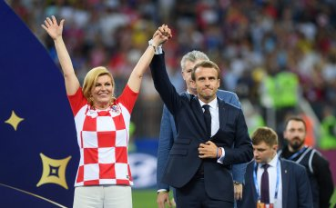 Хърватите се гордеят: Светът говори за нас и красивата ни президентка