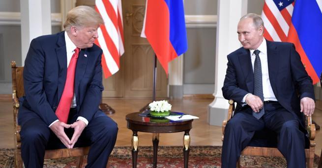 Срещата между президентите на Русия и САЩ Владимир Путин и
