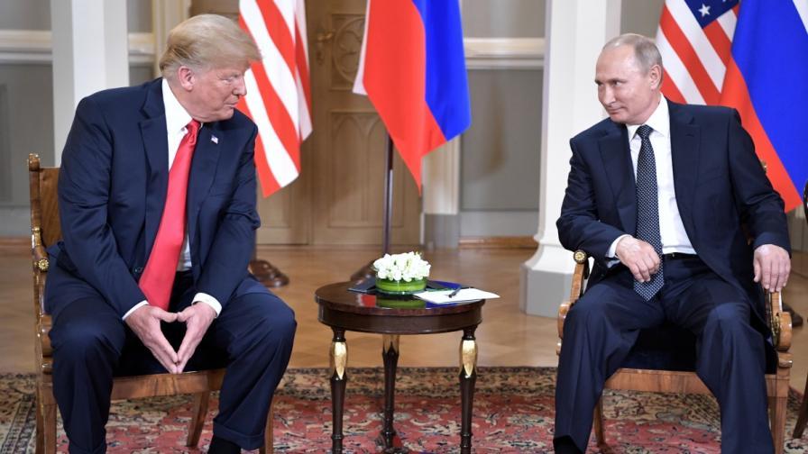 Доналд Тръмп и Владимир Путин