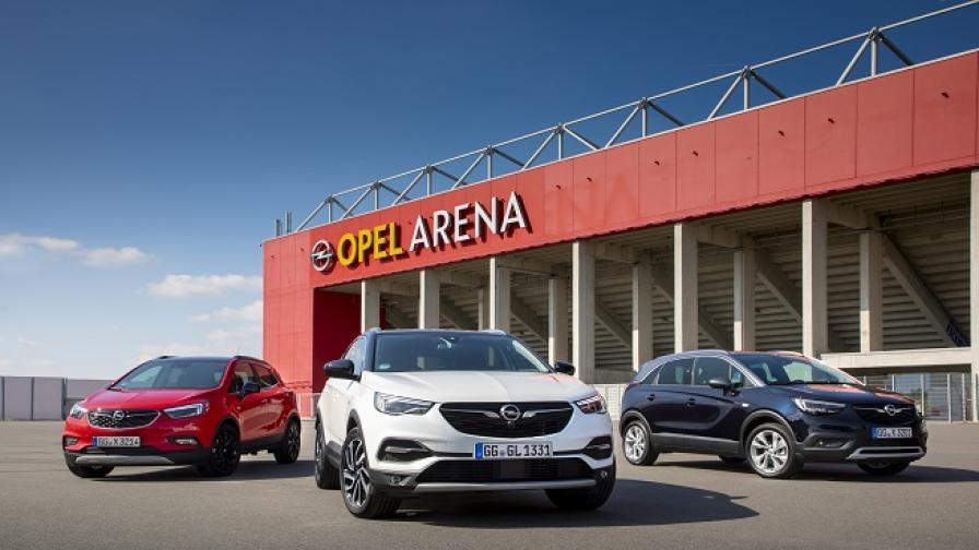 Х-Factor: отборът на Opel за SUV хитове (тест драйв)