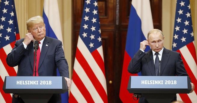 Американският президент Доналд Тръмп бе посрещнат от вълна от критики