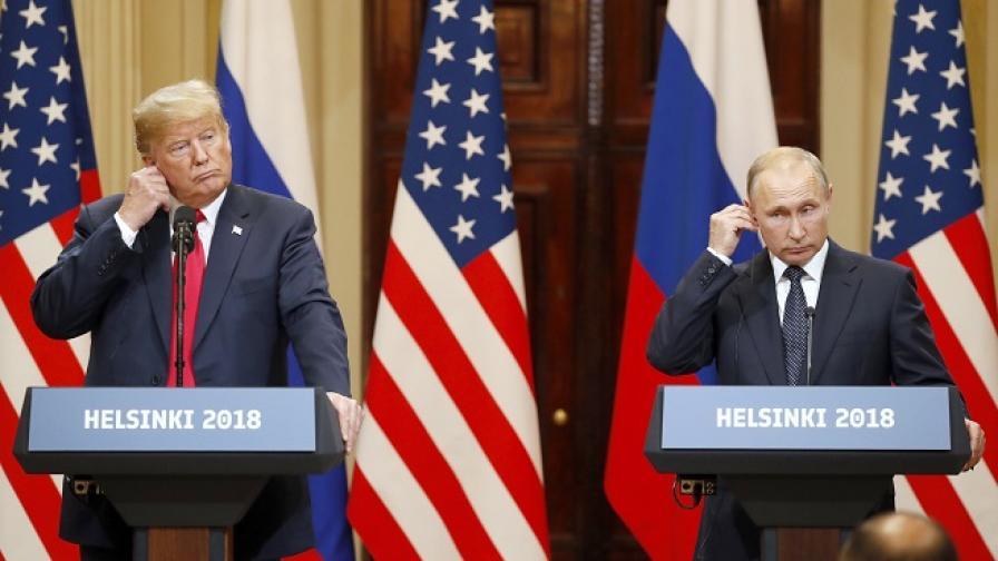 """""""Гардиън"""": Пресата за Путин - победител, Тръмп - предател"""