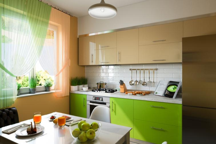кухня цвят интериор характер
