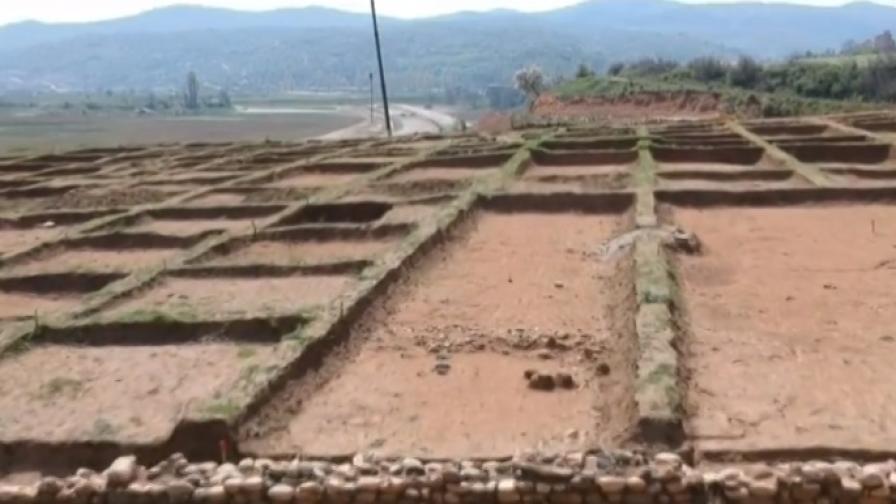 """Строителството на """"Струма"""" продължава, край на разкопките"""