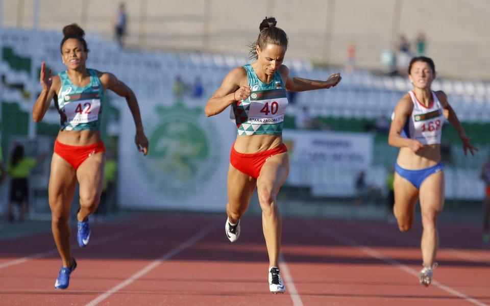 Инна Ефтимова спечели балканската титла и на 200 метра