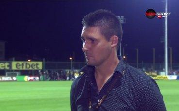 Тодор Симов: Благодаря на футболистите