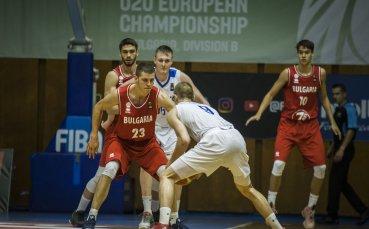 Баскетболистите ни победиха Белгия и завършиха на седмо място