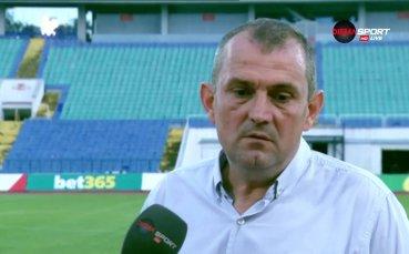 Загорчич: Искам всички играчи на Славия да отидат в чужбина и да си оправят живота