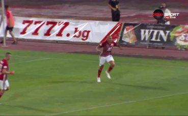Мауридес откри головата си сметка за ЦСКА