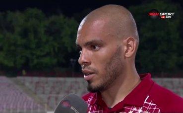 Мауридес: С моите голове се надявам да помогна на ЦСКА за титлата