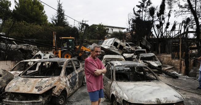 Българката Ина Лозанова, която живее в гръцкото градче Рафина и