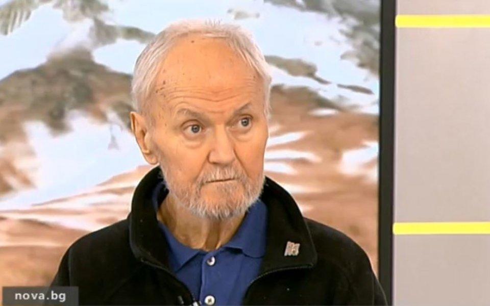 Почина доайенът в българския алпинизъм Петър Атанасов