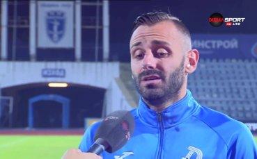 Балджийски: Претръпнал съм срещу ЦСКА, а и не знам това ЦСКА ли е или Литекс?