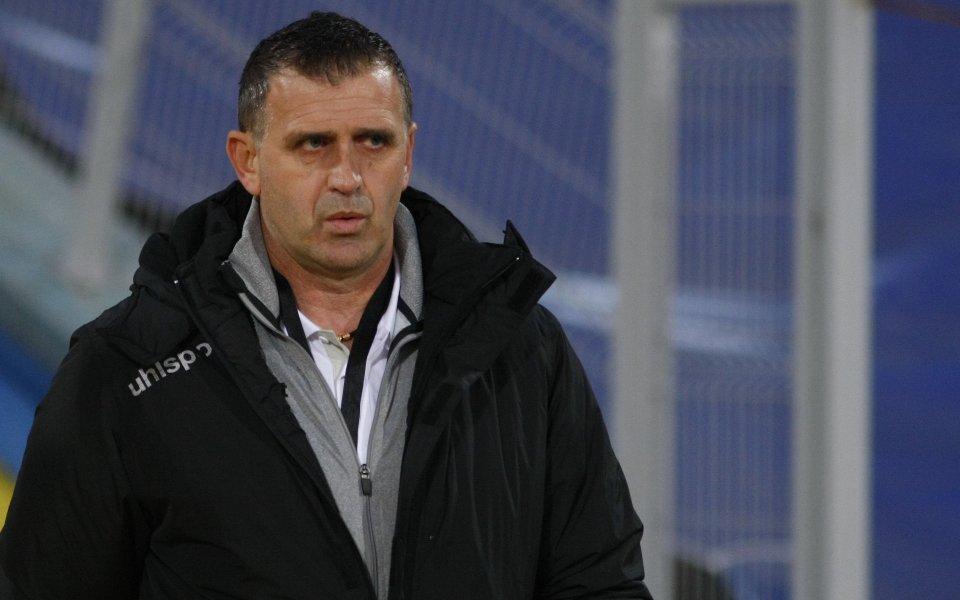 Бруно Акрапович хареса играчите на проби
