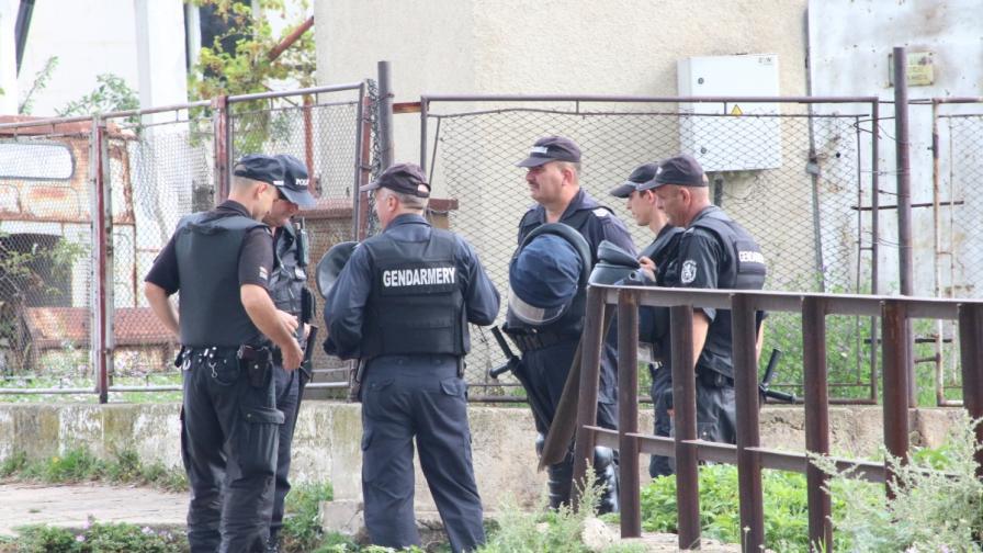 Жандармерия и полиция в Самоков след жестокото убийство