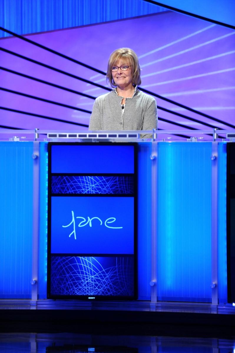 Джейн Къртин по време на участие в телевизионно предаване.