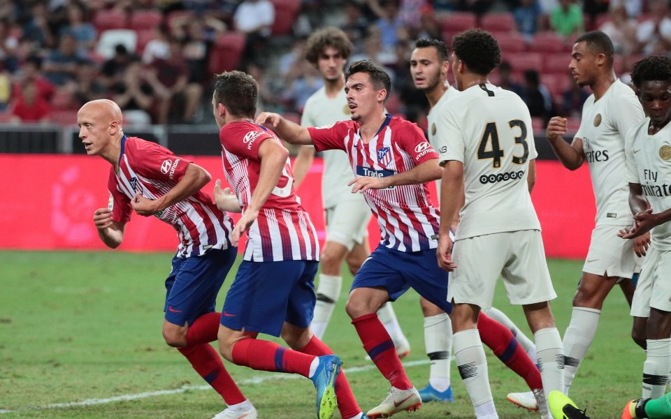 ПСЖ надви Атлетико Мадрид в мач с 5 гола