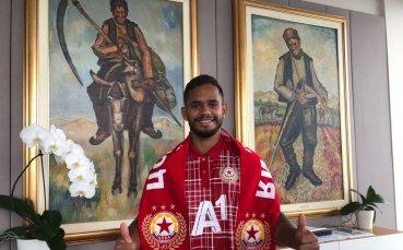 Евандро: Щастлив съм в ЦСКА, сезонът ми е по-добър от очакваното