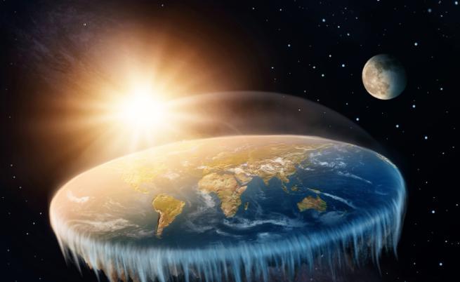 Земята - плоска, затъмнението - невъзможно
