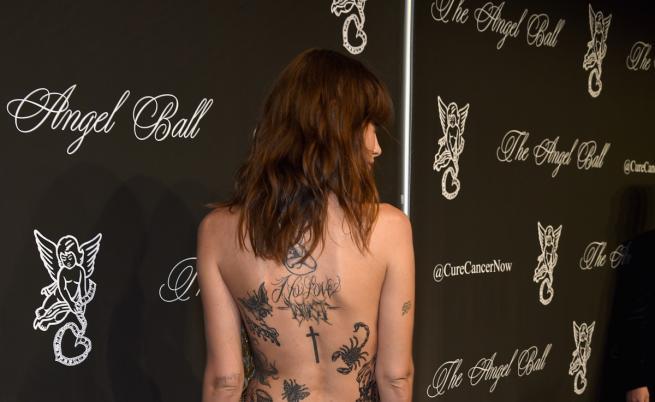 Едва забележими или по цялото тяло - татуировките на манекенките