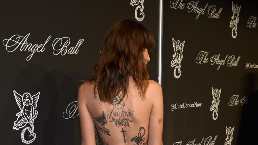 Татуировките, които манекенките си правят