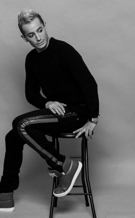 - Франки Гранде, братът на Ариана Гранде e артистична личност.