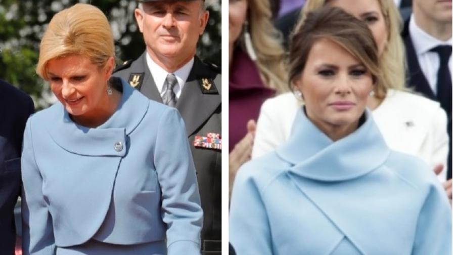Известните жени, които се облякоха като Мелания