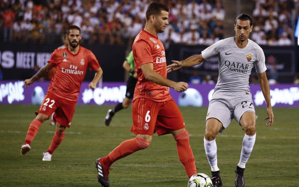 Реал Мадрид се справи с Рома в последната контрола на двата отбора