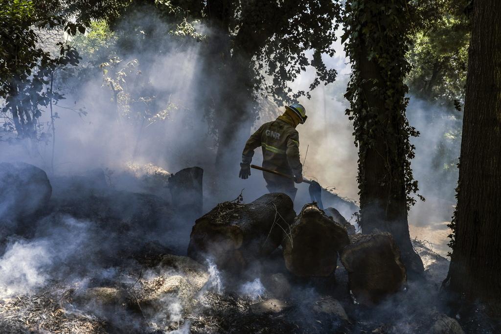 Пожарът там бушува от дни, като повече от 1 000 пожарникари, подпомагани от 19 хеликоптери и самолети шести пореден ден се опитват да угасят големия пожар, бушуващ в Южна Португалия, на около 250 км югоизточно от Лисабон