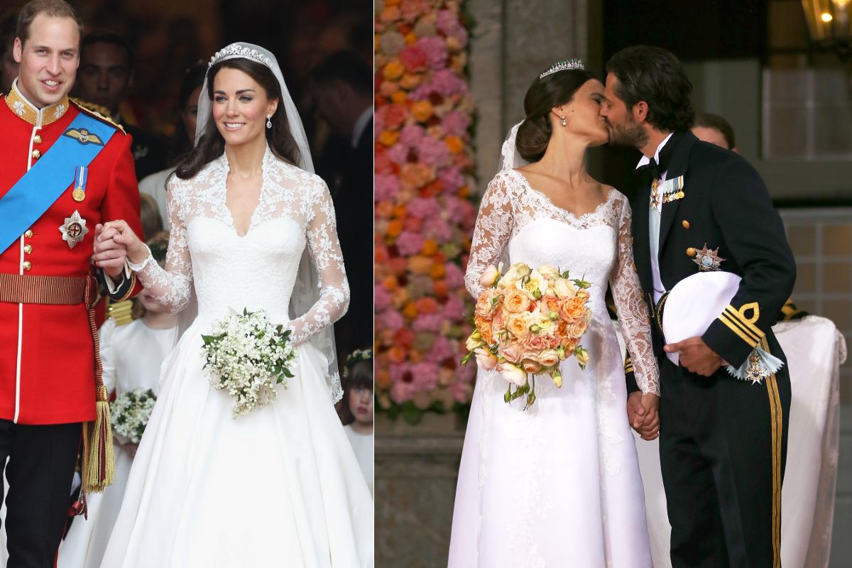 Херцогинята на Кембридж Кейт Мидълтън и шведската принцеса София