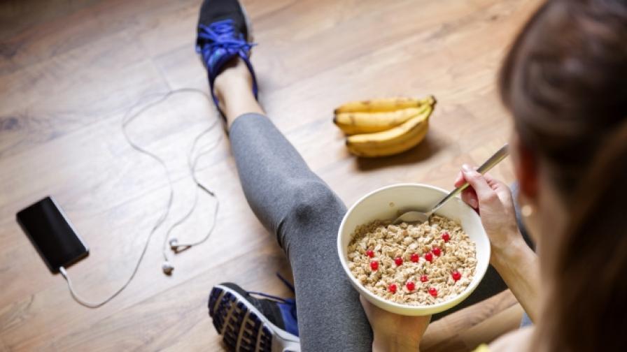 Никога не яжте това преди тренировка (СНИМКИ)