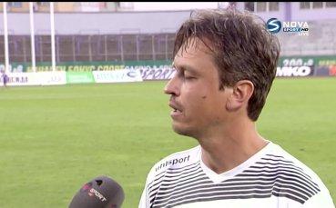 Треньор на Черно море: Играхме срещу резултата, топлото време и съдията