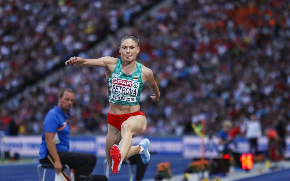 Габриела Петрова зае шесто място на троен скок в Берлин