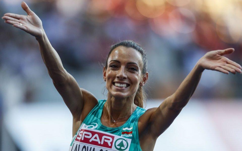 Най-добрата българска спринтьорка Ивет Лалова спечели първото място в състезанието