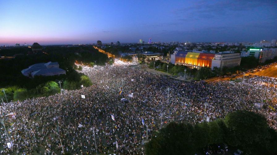 Защо протестират в Румъния, спор за 400-те ранени