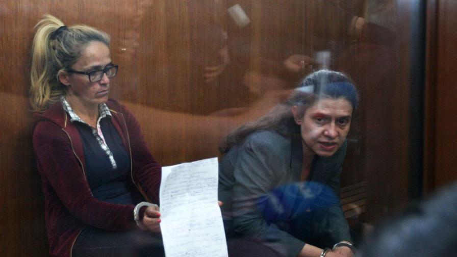 <p>Съдът забрани на Иванчева и Петрова да напускат страната</p>
