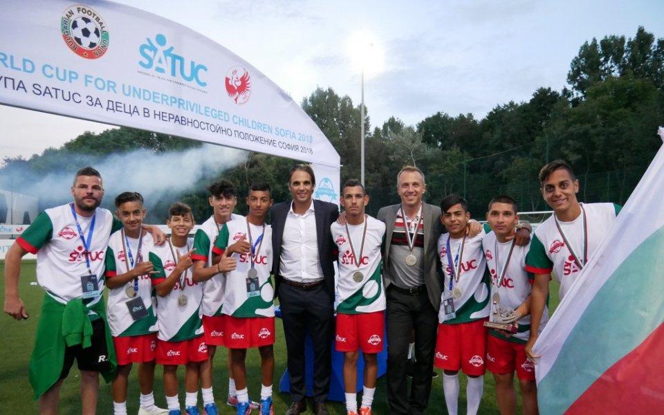 44fe207ab02 България завърши трета на Световната купа по футбол SATUC - БГ ...