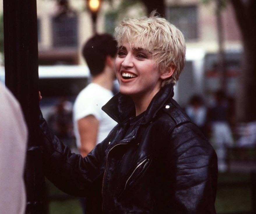 - Мадона в началото на кариерата си.