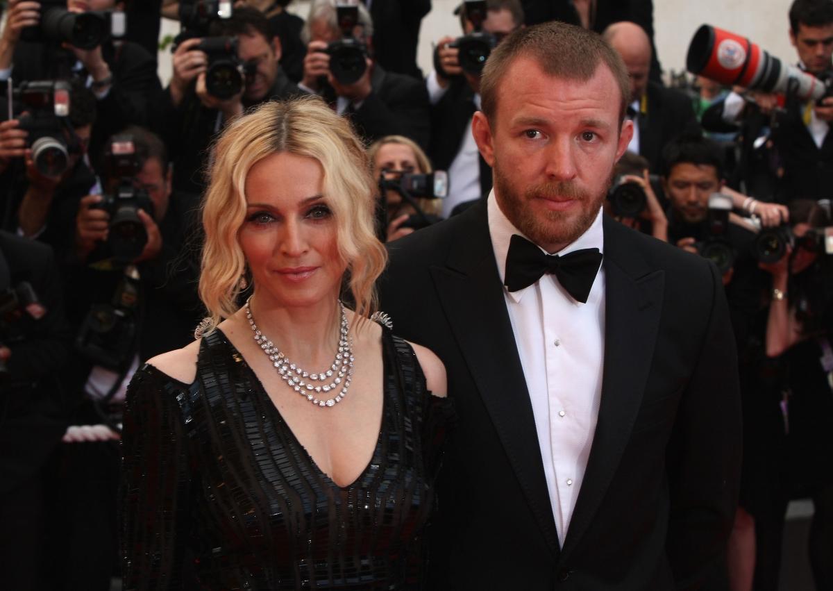Мадона с втория й съпруг, режисьорът Гай Ричи.