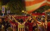 Феновете на Атлетико се отдадоха на купон в Мадрид