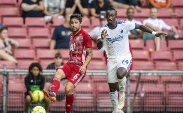 ЦСКА се бори, но не пребори Копенхаген в Лига Европа