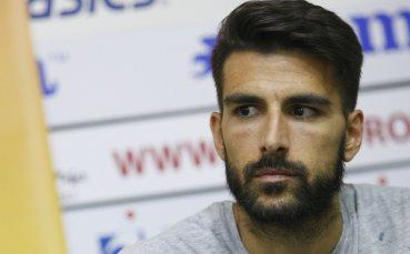 Жорди Гомес си взе довиждане със съотборници и фенове