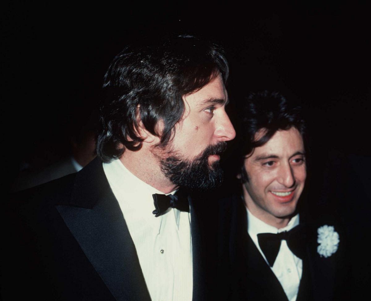 """Робърт де Ниро и Ал Пачино си партинрат в култовия филм """"Кръстника""""."""
