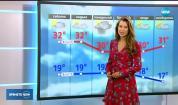 Прогноза за времето (17.08.2018 - централна емисия)