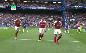 Пълно шоу, Арсенал изравни за 4 минути на Челси
