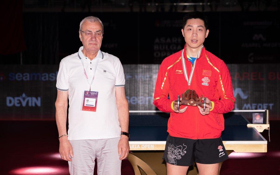 Три титли за Китай и една за Япония на турнира по тенис на маса